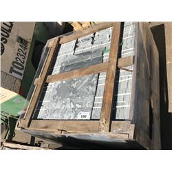 PALLET OF AV69 MARBLE BLACK SLATE TEXTURED WALL TILES APROX. 5,000 PCS