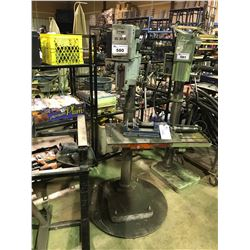 IMA IG30-8 UPRIGHT DRILL PRESS WITH VISE