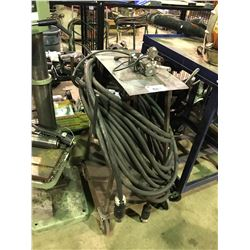 MOBILE WELDING CART WITH CABLE