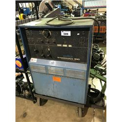 MILLER SYNCROWAVE 300 AC/DC GAS TUNGSTEN-ARC OR SHIELDED METAL ARC WELDING POWER SOURCE