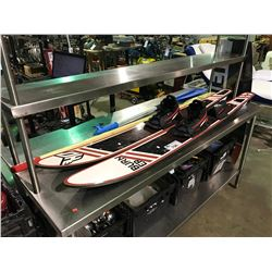 BURNER WATER SKIIS AND PADDLES