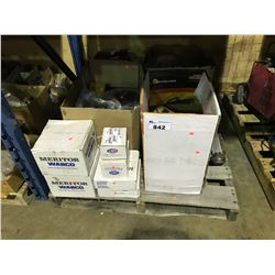 PALLET OF ASSORTED SEMI AIR PODS, MISC PARTS & ACCESSORIES