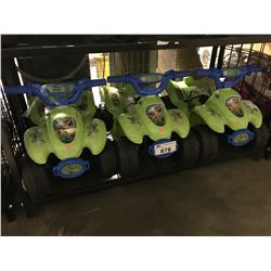 3 DISNEY GOOD DINOSAUR RIDE ON POWERED CHILDRENS TOYS