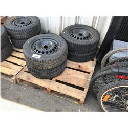 PALLET OF 4 CAR TIRES