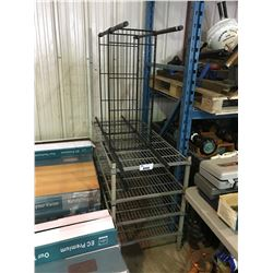 2 ADJUSTABLE RESTURANT RACKS
