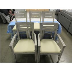 LOT OF 5 MATCHING CHAIRS