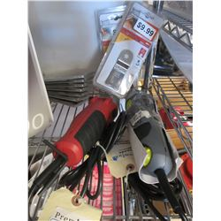 2 OSOLATTING TOOLS & PACKAGES OF BLADES