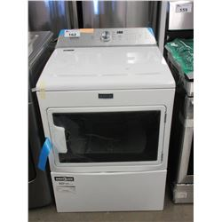 NEW WHITE MAYTAG DRYER (MAY HAVE SLIGHT COSMETIC DAMAGE)