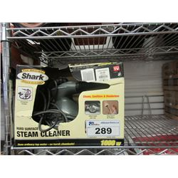 2 SMALL SHARK STEAM CLEANERS