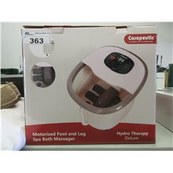 CAREPEUTIC FOOT & LEG SPA BATH MASSAGER