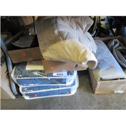 2 TEMPERATURE REGULATING BLANKETS/HEATED ANKLE WRAP/HEATED WRAP/AIR MATTRESS/ETC