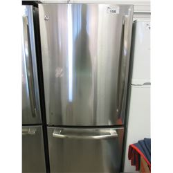 NEW G.E. STAINLESS WITH SWING OUT FREEZER