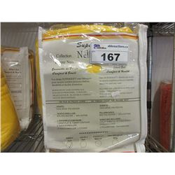 2 NEW 4 PC YELLOW TWIN SIZE SUPERSOFT NELLIGAN SHEET SETS
