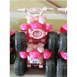 2 CHILDS RIDE ON RECHARGEABLE VEHICLES