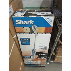 2 UPRIGHT SHARK STEAM CLEANERS