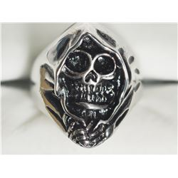 STERLING STEEL MEN'S RING.APPROX RETAIL $100