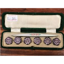 CASED VICTORIAN DARNING SET