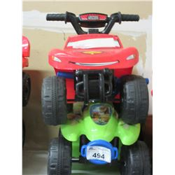 2 CHILDS RECHARGEABLE RIDE ON VEHICLES