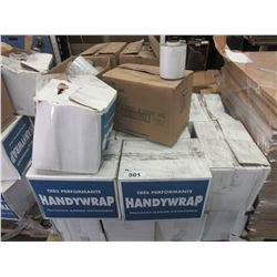 LARGE PALLET OF HANDY WRAP SHRINK WRAP
