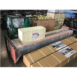 BRAND NEW TWO POST HYDRAULIC CAR HOIST WITH POWER UNIT/PUMP