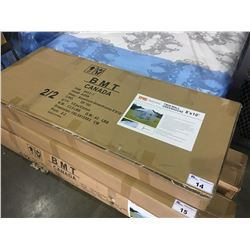 BRAND NEW TWIN WALL GREENHOUSE - 8 FT X 10 FT (2 BOXES)