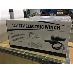 BRAND NEW 12 VOLT ELECTRIC ATV WINCH