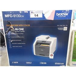 BROTHER ALL-IN-ONE PRINTER MODEL MFC-9130CW