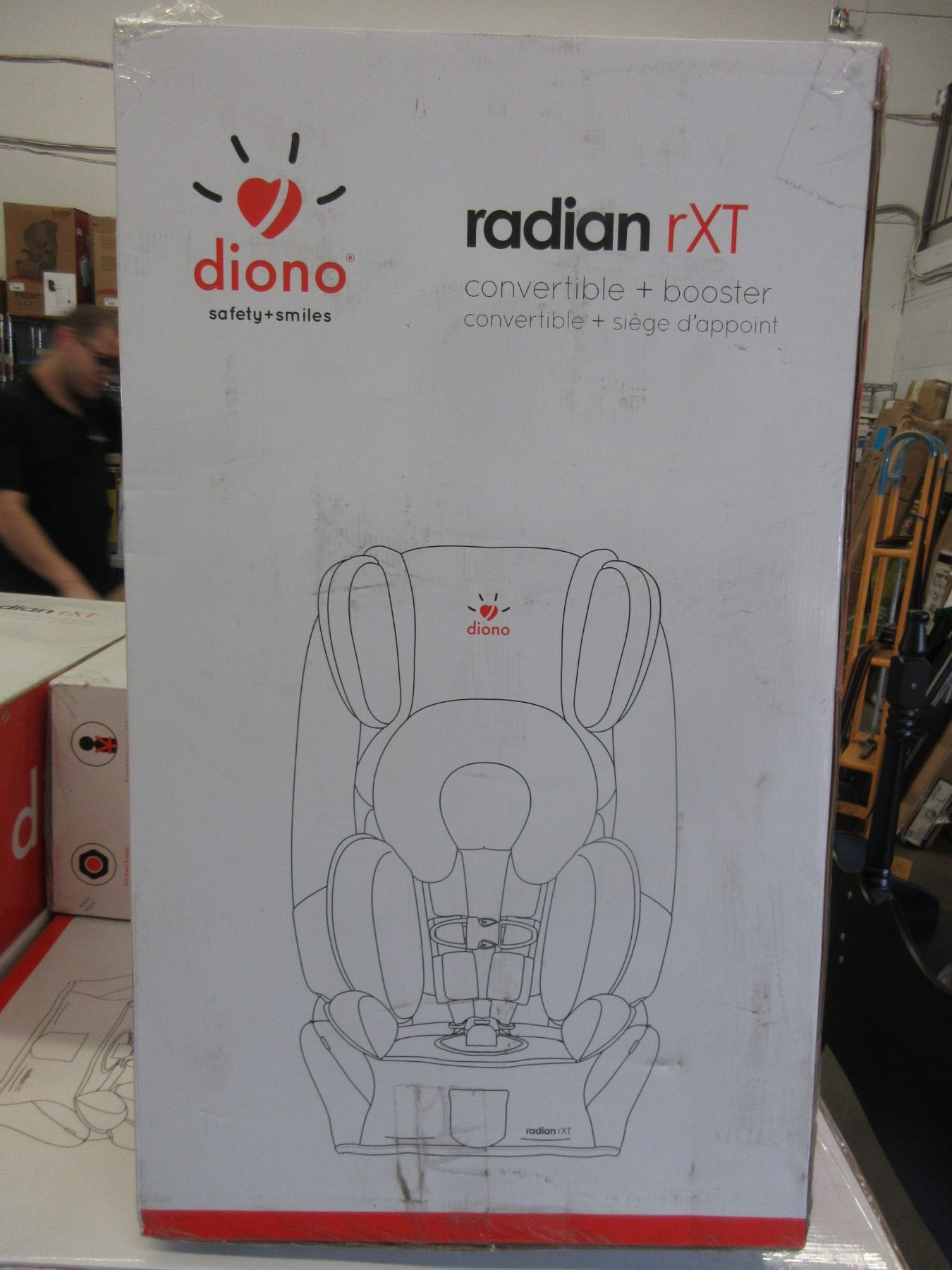 Image 1 DIONO RADIAN RXT ALL IN ONE CONVERTIBLE CAR SEAT