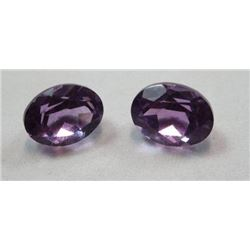 2.88 ct. Matched Pair Amethyst