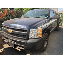 2012 CHEVROLET SILVERADO, EXTENDED CAB PICKUP, GREEN, GAS, AUTOMATIC, VIN#1GCRCPEXXCZ147133,