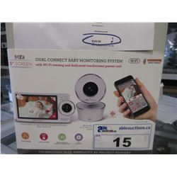 """PROJECT NURSERY 5"""" VIDEO BABY MONITOR SYSTEM WITH WI-FI"""