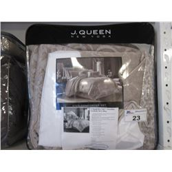 J QUEEN NEW YORK KING SIZE BED SET