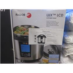 FAGOR LUX LCD 6 QUART MULTI-COOKER