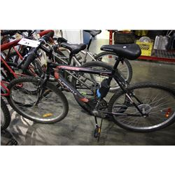 BLACK SUPERCYCLE SC1500 26 H10 STEEL FRAME 18 SPEED MOUNTAIN BIKE