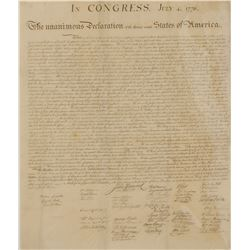 Declaration of Independence Force Print