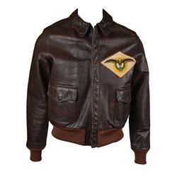 Korean War USAF 8th Bombardment Squadron A-2 Flight Jacket with Unit Patch and Painted Back
