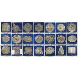 Collection of (21) ISS Robbins Medallions
