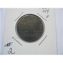 1859 Canadian Large Cent - Narrow 9