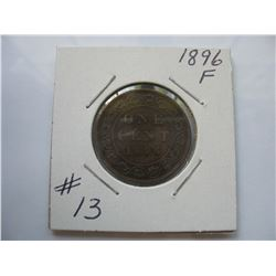 1896 Canadian Large Cent