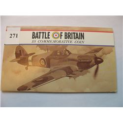 Marshall Islands - 1990 $5.00 Coin - Battle of Britain