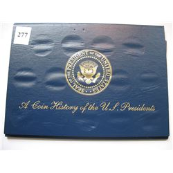 Coin History of US Presidents Medallions - 12 Coins