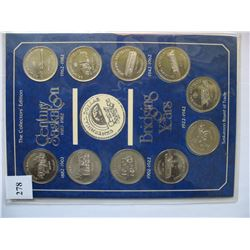 Saskatoon Trade Dollar Collection (1978 - 1982) - 10 Coins