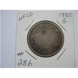 Newfoundland  -  1885  50 Cent Piece