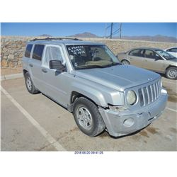 2008 - JEEP PATRIOT SPORT