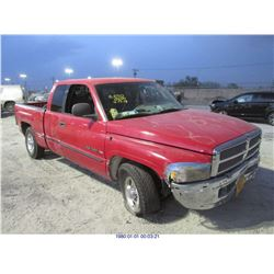 1998 - DODGE RAM1500 // REBUILT SALVAGE