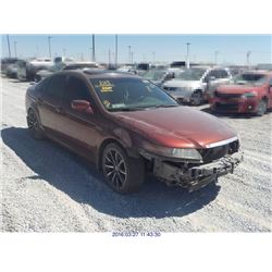 2005 - ACURA TL // SALVAGE TITLE // EXPORT