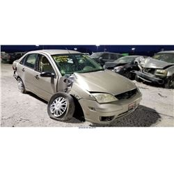 2007 - FORD FOCUS // SALVAGE TITLE