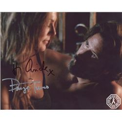 100, The - Abby/Kane Photo Signed by Paige Turco & Henry Ian Cusick