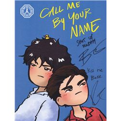 100, The - Bellamy/Murphy (Call Me By Your Name) Art Print Signed by B. Morley & R. Harmon