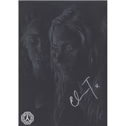 100, The - Clarke/Lexa Original Art Signed by Eliza Taylor